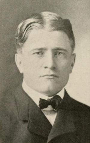 Justa Lindgren - Lindgren pictured in The Illio 1912, Illinois yearbook
