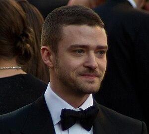 English: Actor and musician Justin Timberlake ...