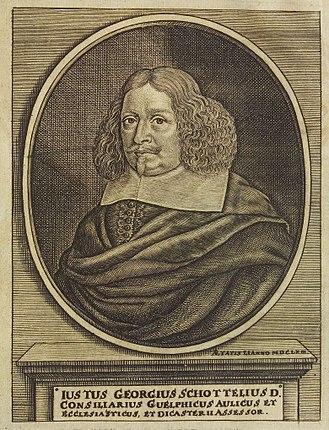 Justus Georg Schottelius - Justus Georgius Schottelius