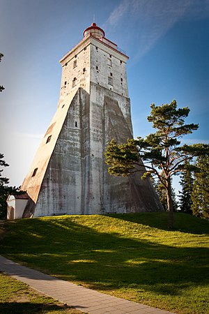 Hiiumaa - Kõpu Lighthouse is one of the best-known landmarks in Hiiumaa.