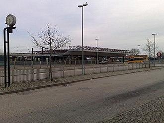 Køge station - Image: Køge Station 4