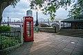 K6 Telephone Kiosk, Lambeth Palace Road Albert Embankment 01.jpg