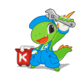 KDE mascot Konqi for utility applications.png
