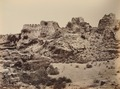 KITLV 91993 - Unknown - Ruins of Fort Tughlakabad at Delhi in India - Around 1860.tif