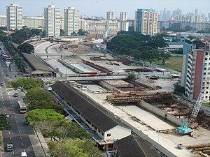 Kallang–Paya Lebar Expressway - KPE at Circuit Road, MacPherson.