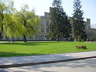 Igor Sikorsky Kyiv Polytechnic Institute - KPI - Building №1.