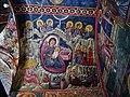 Kakopetria Kirche Agios Nikolaos tis Stegis Innen Gewölbe 09.jpg