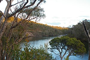 Kalgan River - Southern end of Kalgan River near Lower Kalgan Bridge