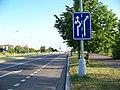 Kamýk, Novodvorská, před Chýnovskou.jpg