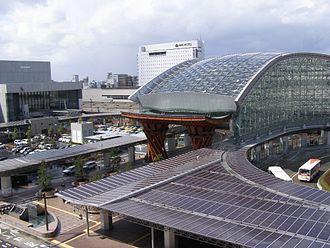 Kanazawa Station - JR Kanazawa Station East entrance