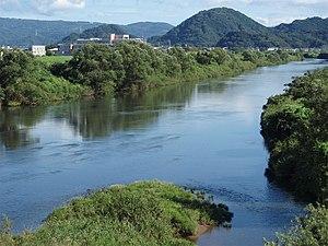 Shimizu, Shizuoka - Kano River in Shimizu Town