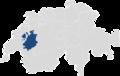 Kanton Freiburg auf der Schweizer Karte.png