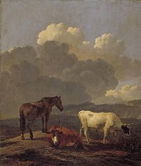 Italianate Landscape with Cattle