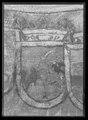 Karl XIs riksbanér från kröningen 1675-09-28 i Uppsala domkyrka - Livrustkammaren - 77633.tif