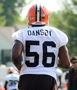 Karlos Dansby 2014 Browns Training Camp.jpg
