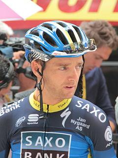 Karsten Kroon Dutch road bicycle racer