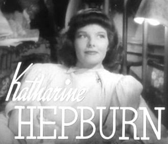 Stage Door - Image: Katharine Hepburn in Stage Door trailer