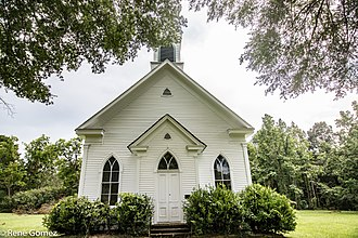 National Register of Historic Places listings in DeSoto Parish, Louisiana - Image: Keach Baptist Church (1 of 1)
