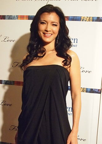 Kelly Hu - Hu in April 2013