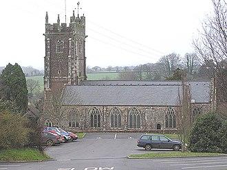 Kentisbeare - Image: Kentisbeare parish church geograph.org.uk 104885