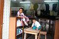 Kids in their mother store in Zanzibarn.jpg