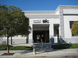 WIC - WIC program services are offered at this office in Hanford, California by the Kings County Department of Public Health