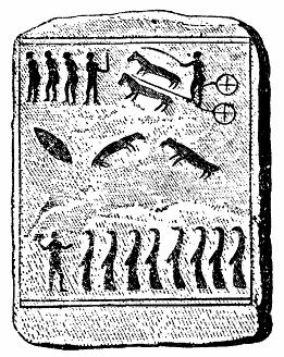 Kiviksgraven, en av hällarna, Nordisk familjebok
