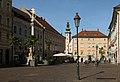 Klagenfurt am Wörthersee, straatzicht Alter Platz met Bürgerhaus Dm34439 IMG 2144 2019-08-15 09.20.jpg