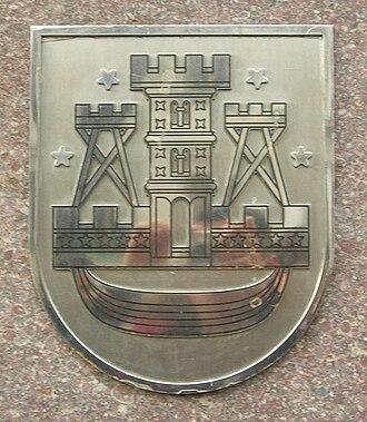 Coat of arms of Klaipėda - Image: Klaipeda coa