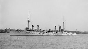 French armoured cruiser Dupleix