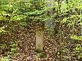 Kleindenkmal, Mädlesstein, 's Mädle vom Klengle - 1716 - 2005 - Hirschstange (Originalstein 1987 gestohlen) - panoramio.jpg