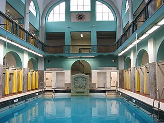 Aachen - The modern Elisabethhalle pool