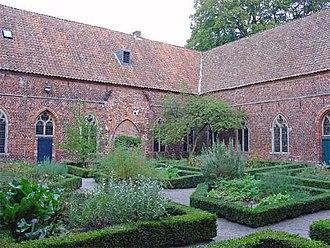 Ter Apel Monastery - Herb garden in 2006