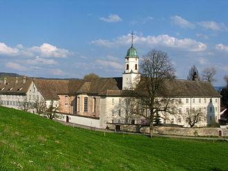 Würenlos - Benedictine women's convent of Fahr