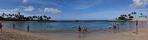 Ko Olina Resort - Image: Ko Olina lagoon 1