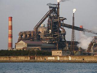 Kakogawa Steel Works Kobe Steel, Ltd.s ironworks in Kakogawa, Hyogo, Japan