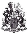Kochanowski von Stawczan (Freiherren- Wappen) 1898.png