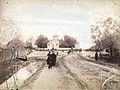 Konrad Brandel Ulica Czerniakowska kościół św. Antoniego Padewskiego ok. 1885.jpg