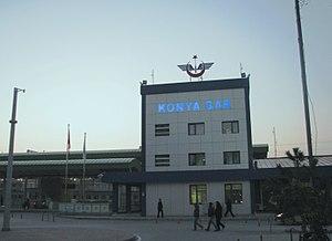 Polatlı–Konya high-speed railway - Image: Konya Gar