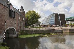 Koppelpoort en gebouw Rijksdienst voor het Cultureel Erfgoed.jpg