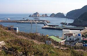 Hongdo - Image: Korea Hongdo Port 11 02710