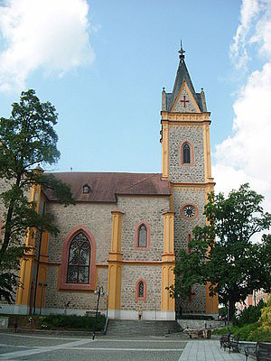 Hluboká nad Vltavou - Parish church