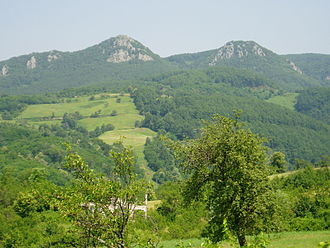 Kozara - Side of the mountain called 'Kozaracki Kamen' - overlooking hamlet of Kozarac
