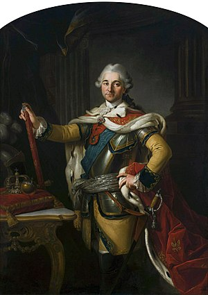 Per Krafft the Elder - Portrait of Stanisław August Poniatowski by Per Krafft the Elder, National Museum, Warsaw, 1767