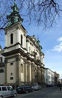Krakov, Stare Miasto, kostel sv. Anny.JPG
