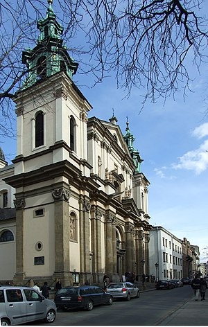 Church of St. Anne, Kraków - Image: Krakov, Stare Miasto, kostel sv. Anny