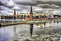 Kremlin Palace reflection Moscow cityscape (8283191601).jpg