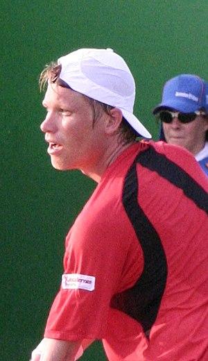 Kristian Pless - Image: Kristian Pless 2007 Australian Open R1