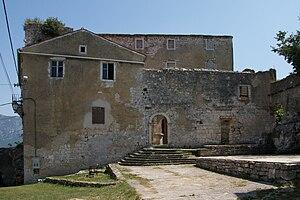 Kršan - Image: Krsan Istria castle