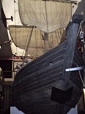Icebreaker - A 17th-century Russian koch in a museum